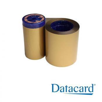 Gold Ribbon for Card Printer Datacard SD260 for 1500 Prints