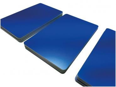Plastic Cards Blue Matt Finish