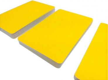 Plastic Cards Yellow