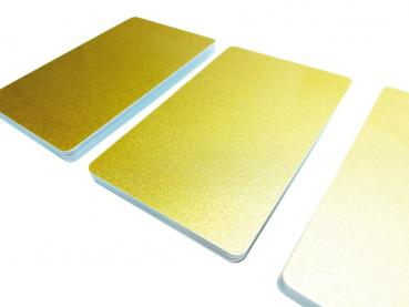 Plastic Cards Gold