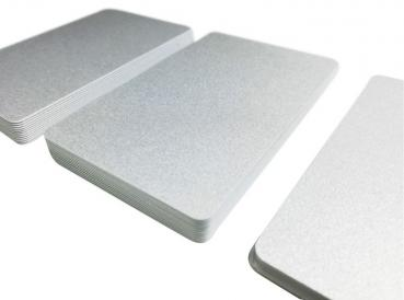 Plastic Cards Silver