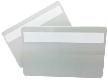 Plastic Cards Grey light with Signature Panel