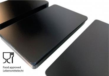 Plastic Cards Black Matt Finish 0,5 mm