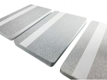Plastic Card silver with signature panel