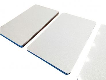 Plastic Cards Metallic White