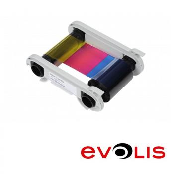 Colorful Ribbon for Card Printer Evolis Primacy for 300 Prints (YMCKO)