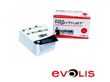 50 Cleaning Cards for Card Printer Evolis Primacy