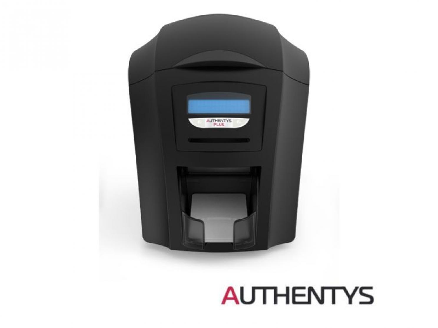 plastic card printer authentys plus