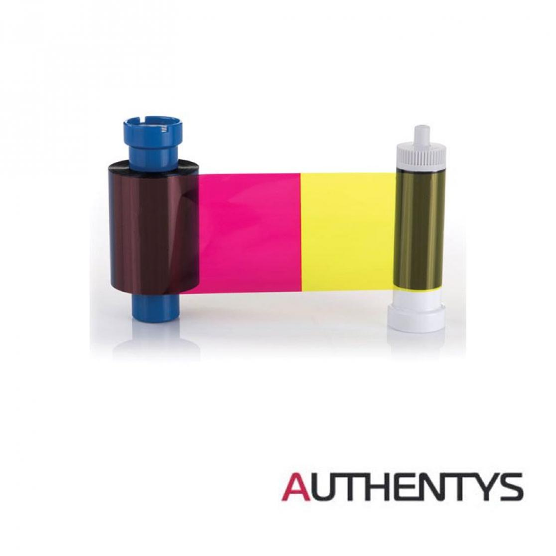 Colorful Film for card printer authentys Identbadge