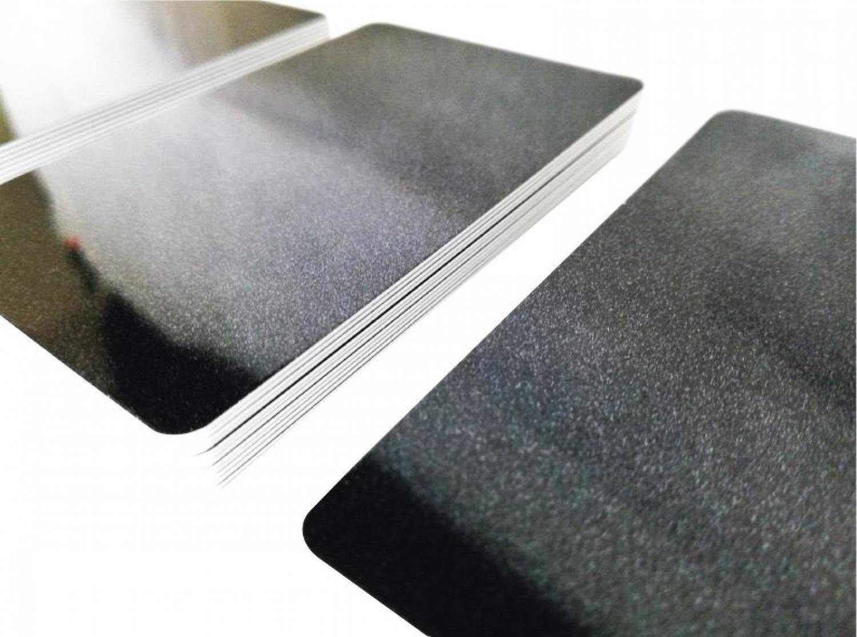 50 Plastikkarten GRÜN METALLICPremium Qualität aus DeutschlandNEU!